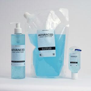 Moisturizing Hand Sanitizer 33 Fl Oz + 8 Fl Oz + 1.7 Fl Oz