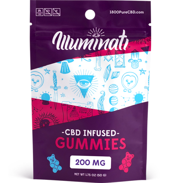 Illuminati CBD Gummy Bears