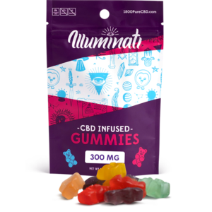 Illuminati CBD Gummy Bears 300mg