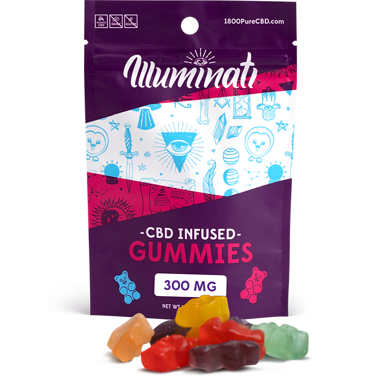 Illuminati CBD Gummy Bears 300mg
