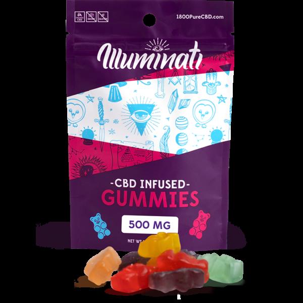 Illuminati CBD Gummy Bears 500mg