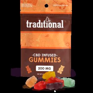 Traditional CBD Gummy Bears 200mg