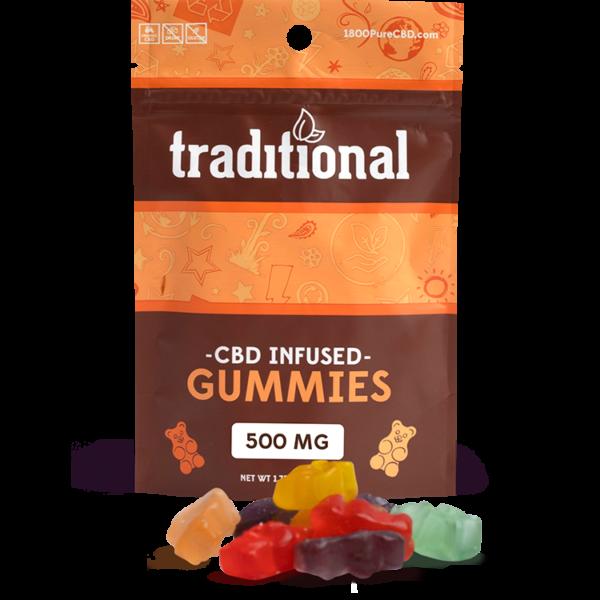Traditional CBD Gummy Bears 500mg