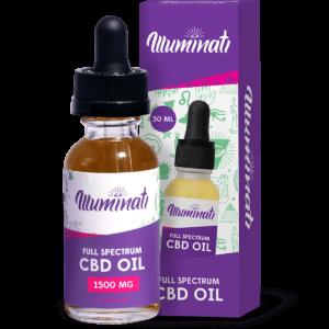 Illuminati CBD Oil Drops 1500mg