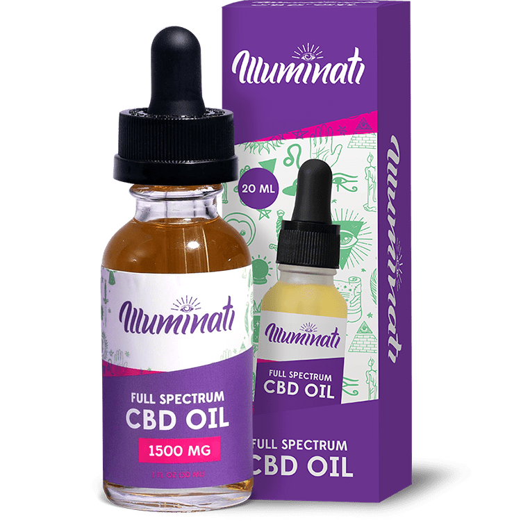 Illuminati CBD Oil Drops 1500mg