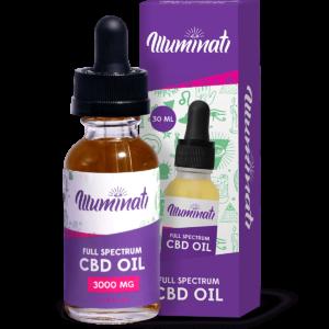 Illuminati CBD Oil Drops 3000mg