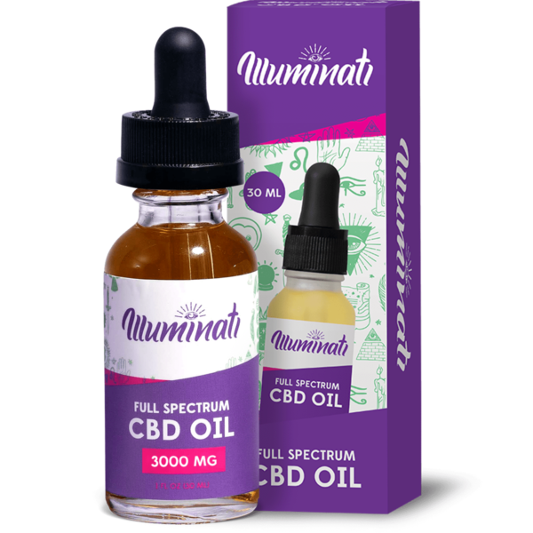 Illuminati Full Spectrum Oil Drops - 3000mg