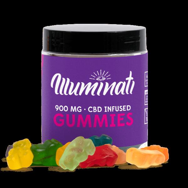 Illuminati CBD Gummies 900mg