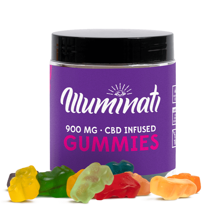 Illuminati CBD Gummy Bears 900mg