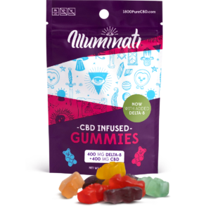 Illuminati Delta-8-THC Gummy Bears 400mg