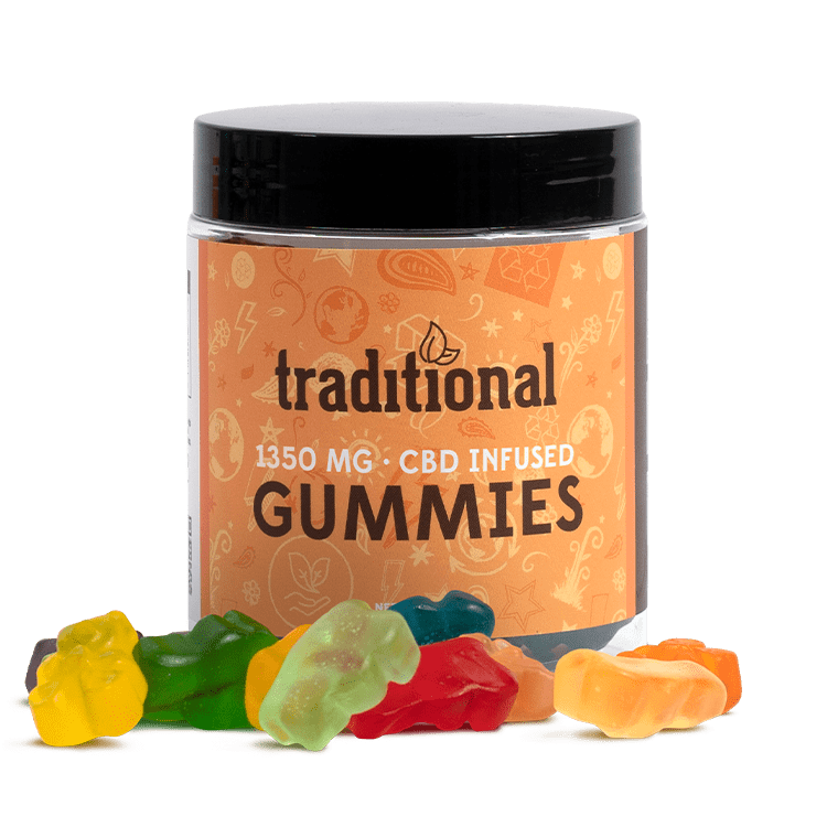 Traditional CBD Gummy Bears 1350mg