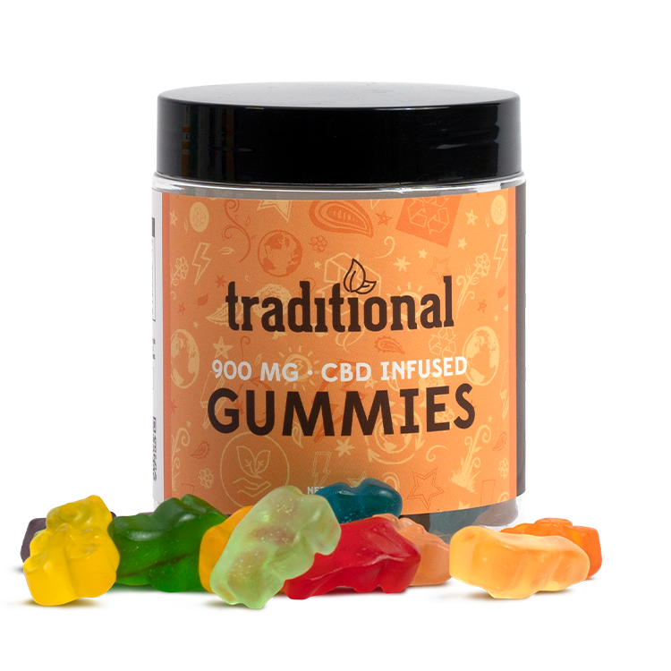 Traditional CBD Gummy Bears 900mg