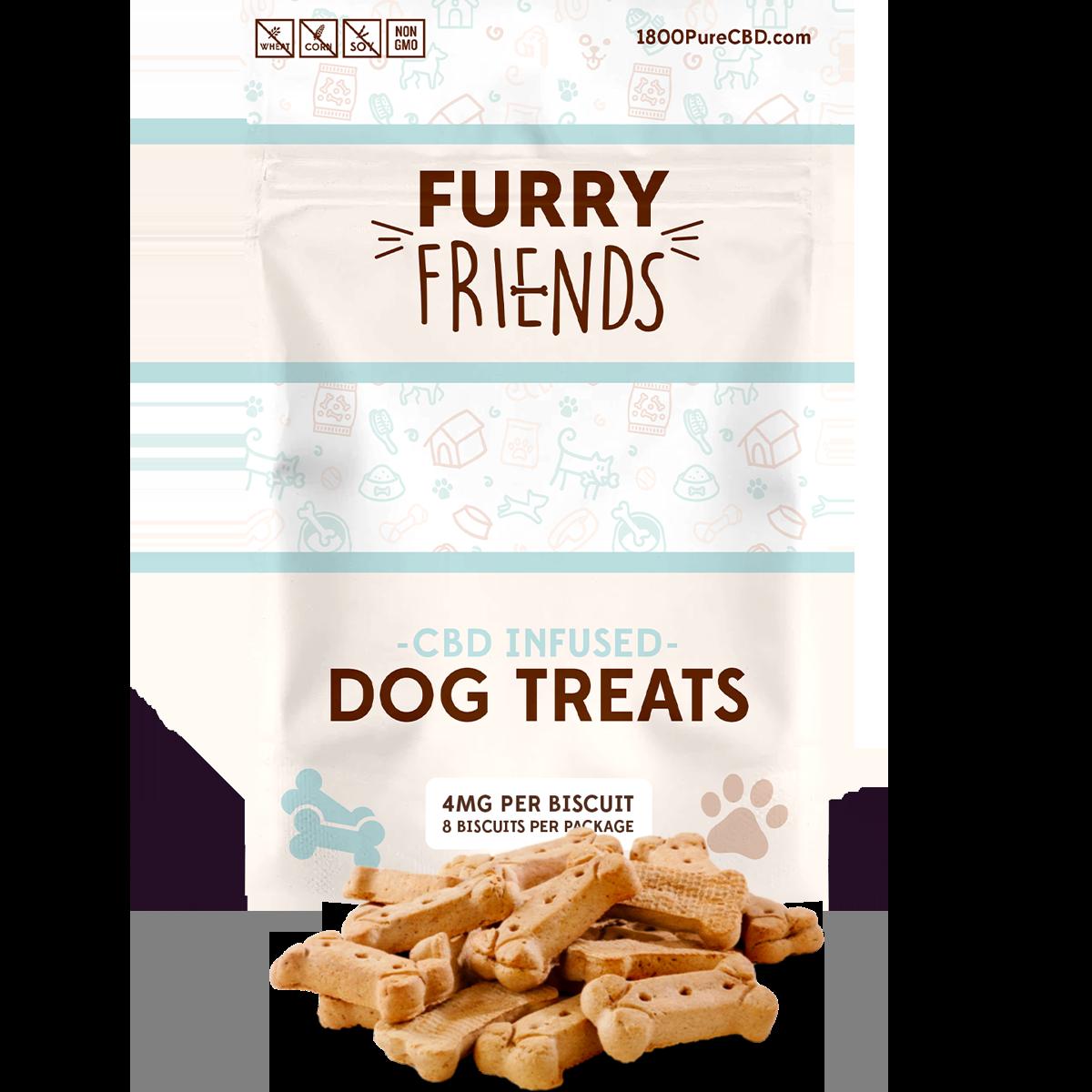 Furry Friends CBD Dog Treats 4mg
