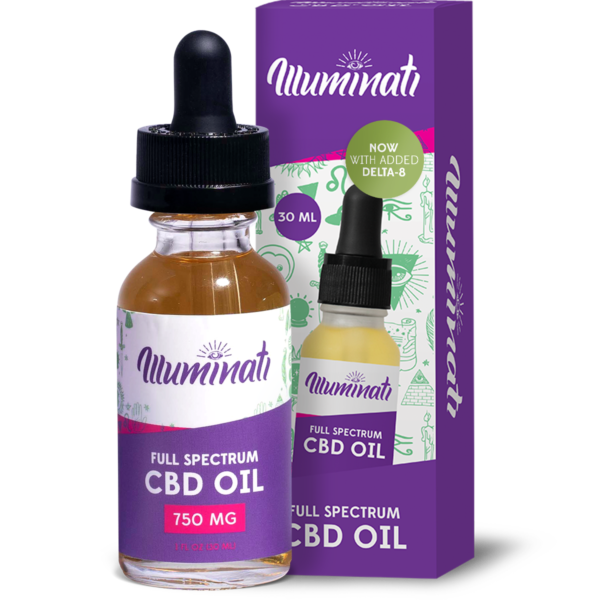 Illuminati Delta 8 THC Oil Drops 750mg