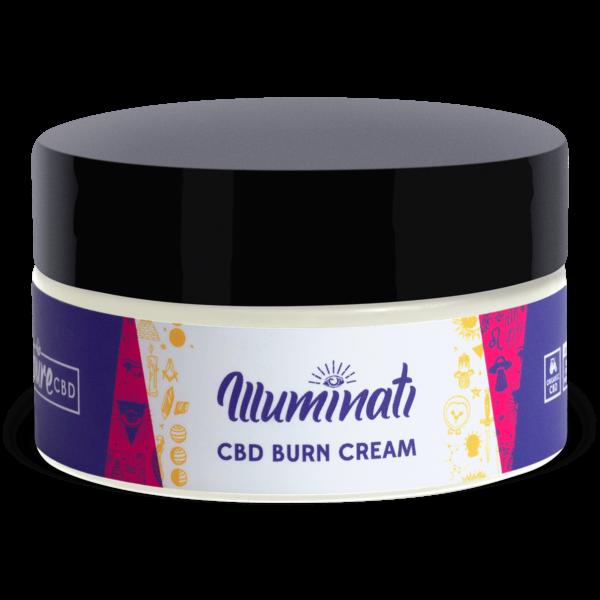 Illuminati CBD Burn Care Cream 1600mg