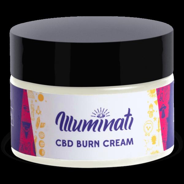 Illuminati CBD Burn Cream