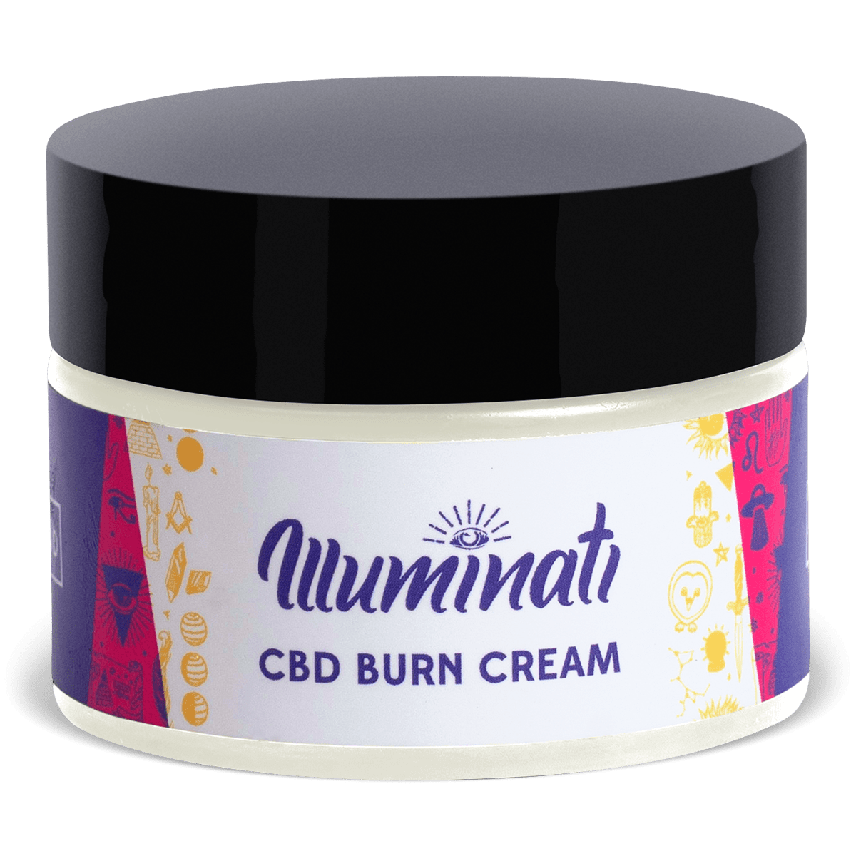 Illuminati CBD Burn Cream